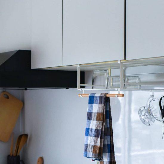 【新商品】当店オリジナル!水切りできる、戸棚下ラックをつくりました。