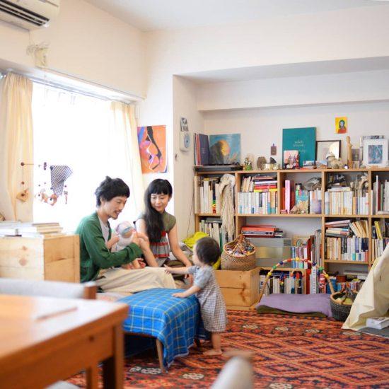 【愛しのマイルーム】第2話:片付けすぎないのが丁度良い。夫婦と子ども1人の賃貸マンション暮らし