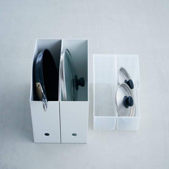 【キッチン収納】02:フライパン・鍋などの台所道具は「立てる収納」が便利!