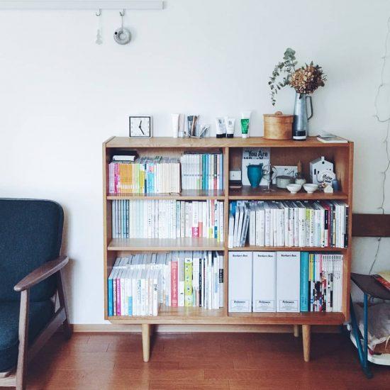 【スタッフの愛用品】「見た目重視」の本棚をつくる、収納アイテム