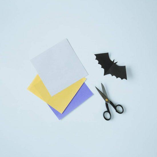 【はじめてのハロウィン】02:紙とハサミがあればOK!ハロウィンの飾り付けを作ってみよう