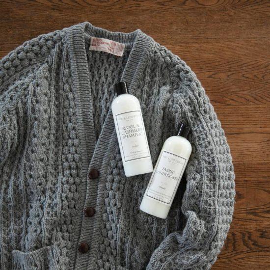 【ニットの基本】01:プロに教わる、ニットやセーターの洗濯方法。洗い方と干し方のコツって?