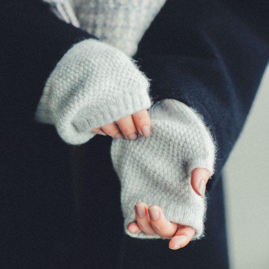 【数量限定】冬が待ち遠しい♪ 温もりも手触りも理想のアームウォーマーに出会いました!