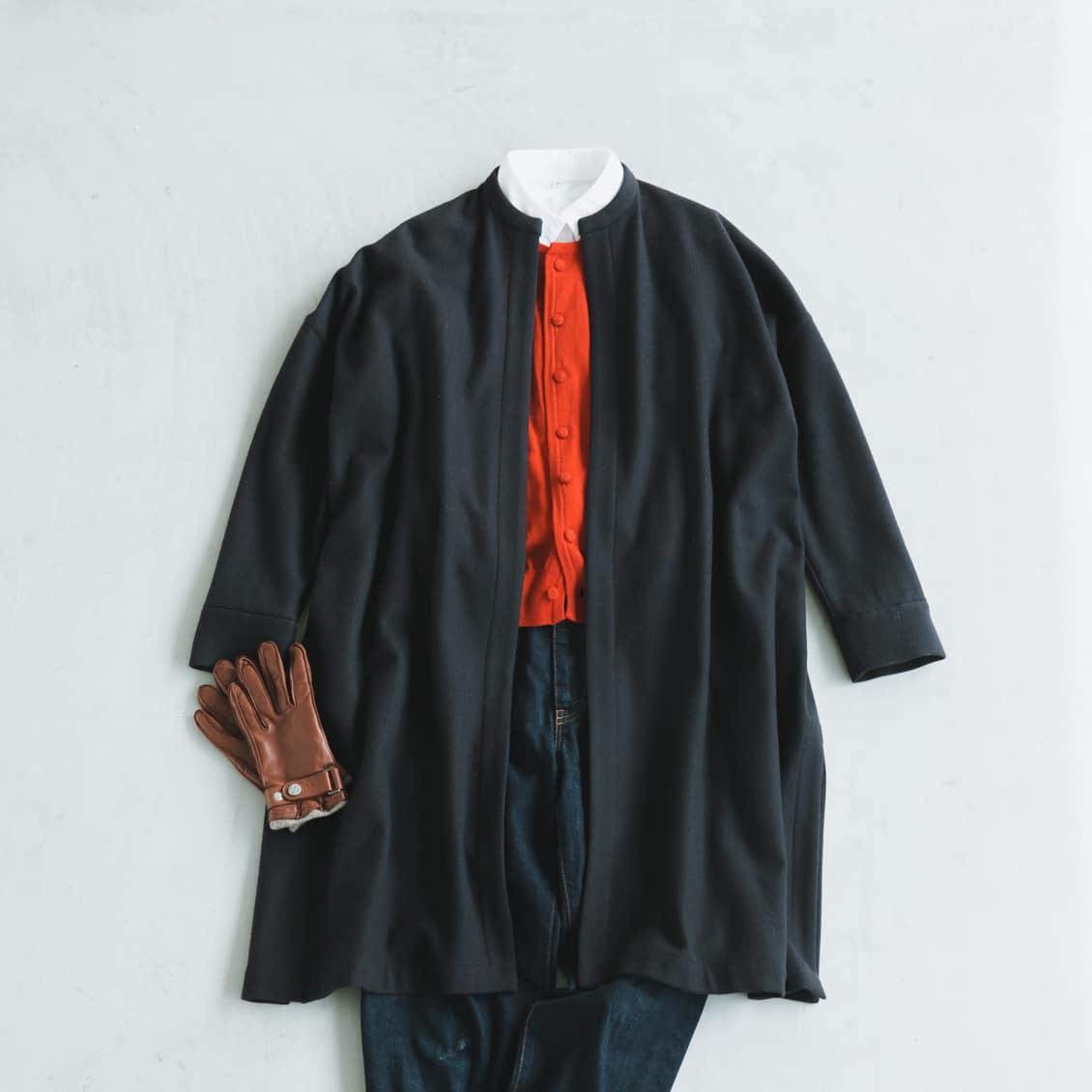 3ae31eb987c46 コートをおしゃれに 後編:今年は新たな気分で!手持ちのコートをもっと ...