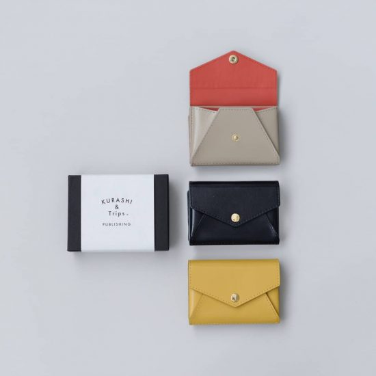 【新商品】小さく見えてたっぷり入る♪当店オリジナル「手のひらサイズの本革財布」ができました!