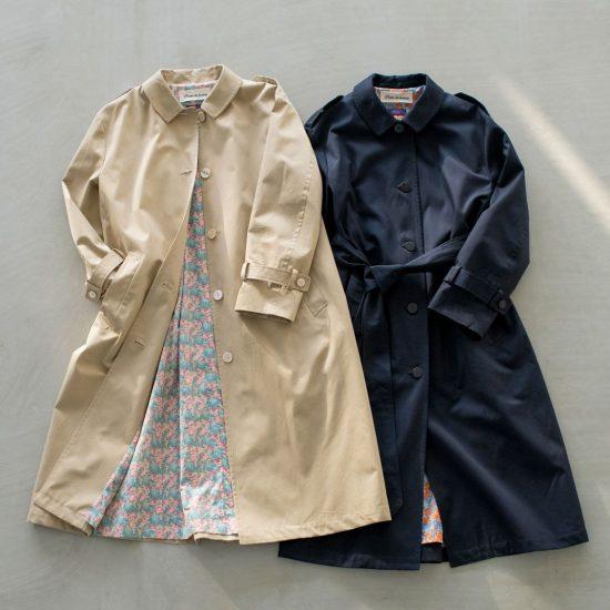 【新商品】定番トレンチに私らしさを! ずっと愛せる、理想のコートを見つけました。