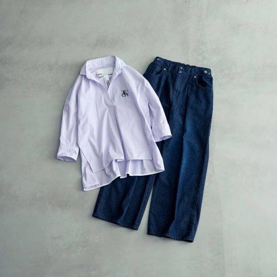 【40代のおしゃれ】01:体型カバーを叶えるアイテム選びのコツは、首元とサイズ感