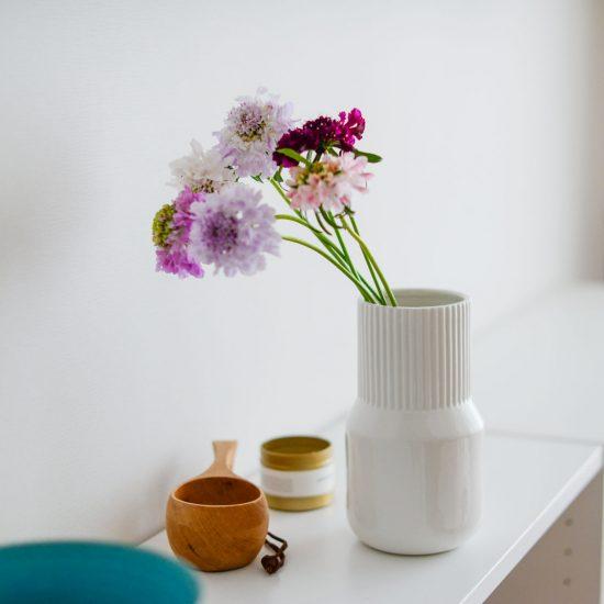 【新商品】花のある暮らしがもっと身近に!初心者さんにおすすめしたい「フラワーベース」をつくりました。