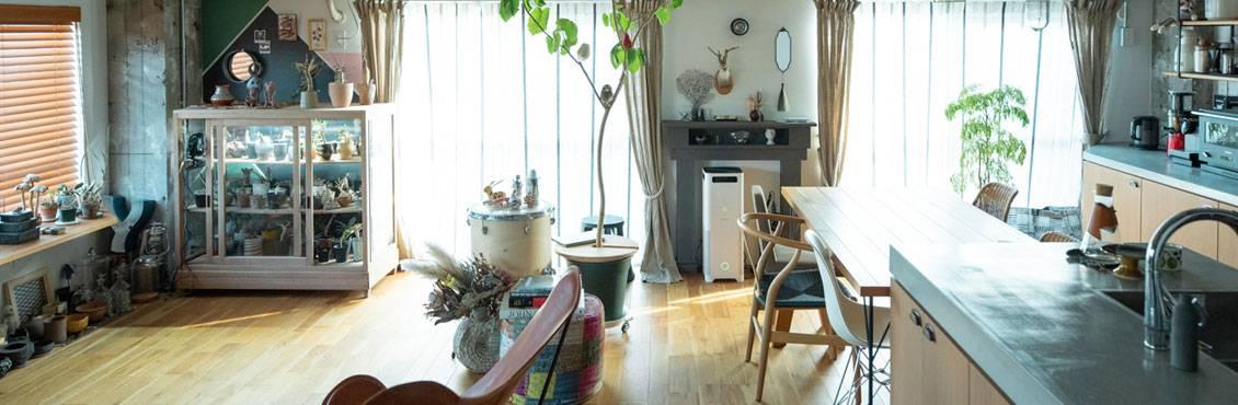 私らしい部屋づくりの画像