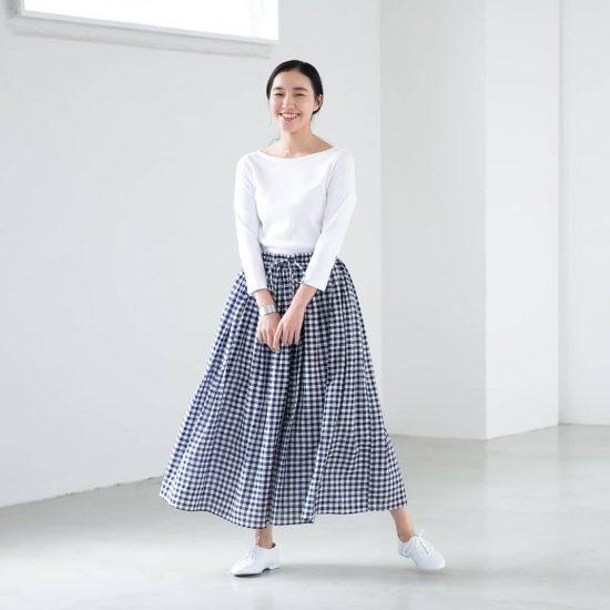 【数量限定】あの「SOIL」から、大人かわいいギンガムチェックのスカートが新登場です!