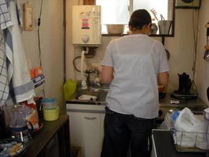 台所からいいにおい!