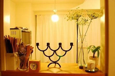 うちのキッチン。