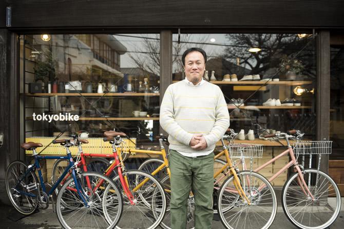 谷中のきんちゃん発=3 全国200店舗で展開する自転車の一貫したブランドづくり。トーキョーバイク・金井一郎【前編】