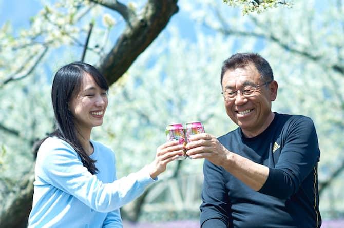 【タイアップ事例】キリンビール株式会社様「氷結® 山梨産 太陽のすもも」とお取り組みを行いました