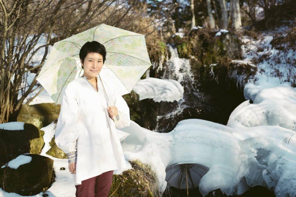 「こうありたい」と「これしかできない」のはざまで日傘を作る──Coci la elle(コシラエル)ひがしちかさん【前編】
